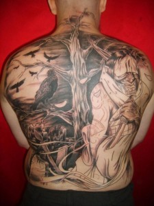 138 Extremely Large Tattoos (138 photos) 8
