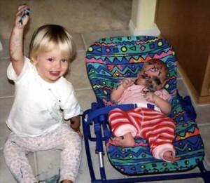 Nasty Things Children Do (34 photos) 16