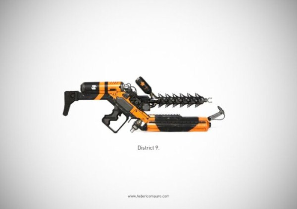Weapons of the Famous Movie Characters (39 photos) 32