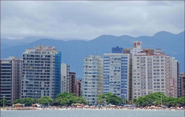 santos μια πόλη ναυάγιο στη Βραζιλία 1 ο κεκλιμένος Κτίρια Santos (9 φωτογραφίες)