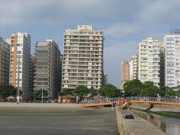 santos μια πόλη ναυάγιο στη Βραζιλία 4 ο κεκλιμένος Κτίρια Santos (9 φωτογραφίες)
