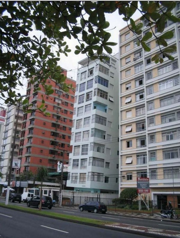 santos μια πόλη ναυάγιο στη Βραζιλία 6 ο κεκλιμένος Κτίρια Santos (9 φωτογραφίες)