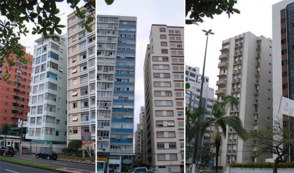 santos μια πόλη ναυάγιο στη Βραζιλία 9 ο κεκλιμένος Κτίρια Santos (9 φωτογραφίες)