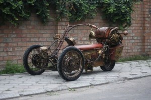 Awesome Steampunk Trike (32 photos) 2