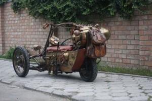 Awesome Steampunk Trike (32 photos) 3
