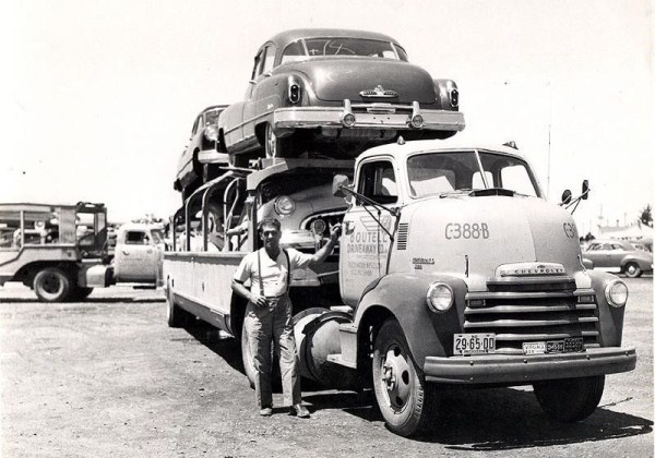 American Car Transporters from the Past (18 photos) 8