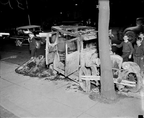 vintage car accidents 221 pictures