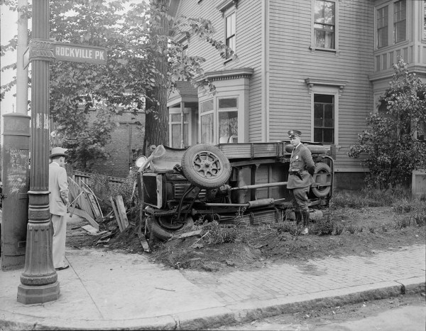 vintage car accidents 281 pictures