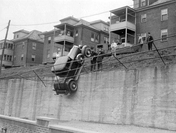 vintage car accidents 451