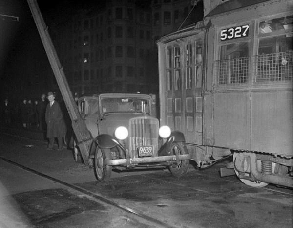 vintage car accidents 491 pictures