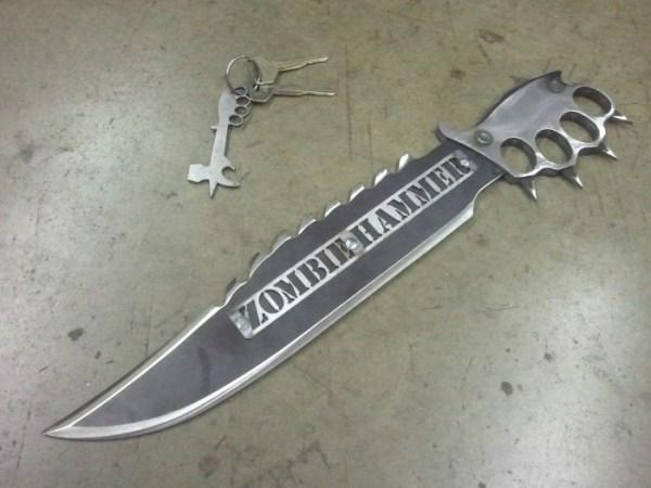 μαχαίρια σφυρί ζόμπι 2 Zombie Μαχαίρια Επιβίωσης (9 φωτογραφίες)