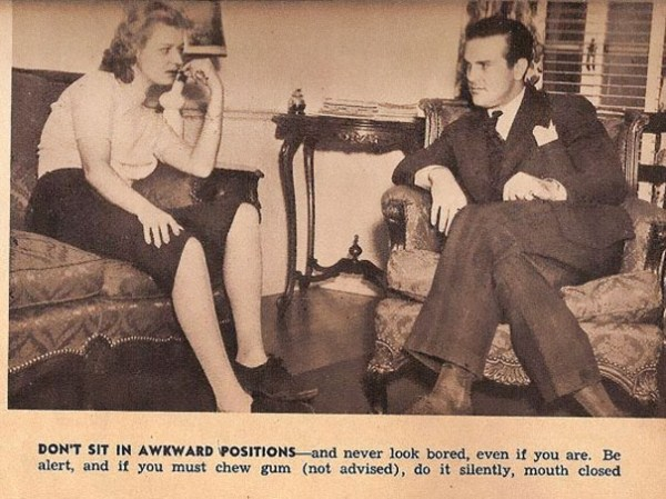 Sexist Dating Tips for Single Women from 1938 (13 photos) 1