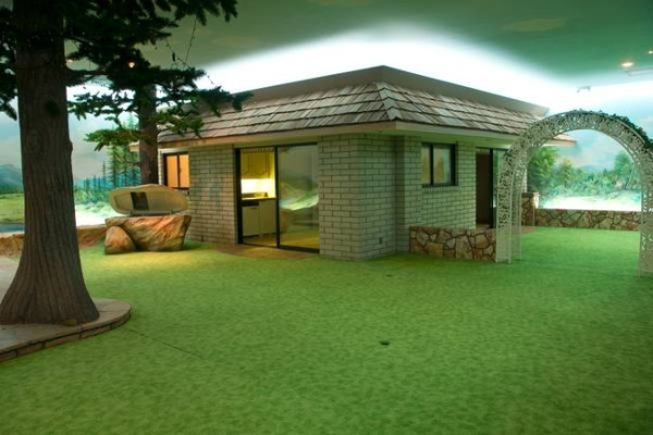 Cold War Era Home Built 26 Feet Underground (29 photos) 23