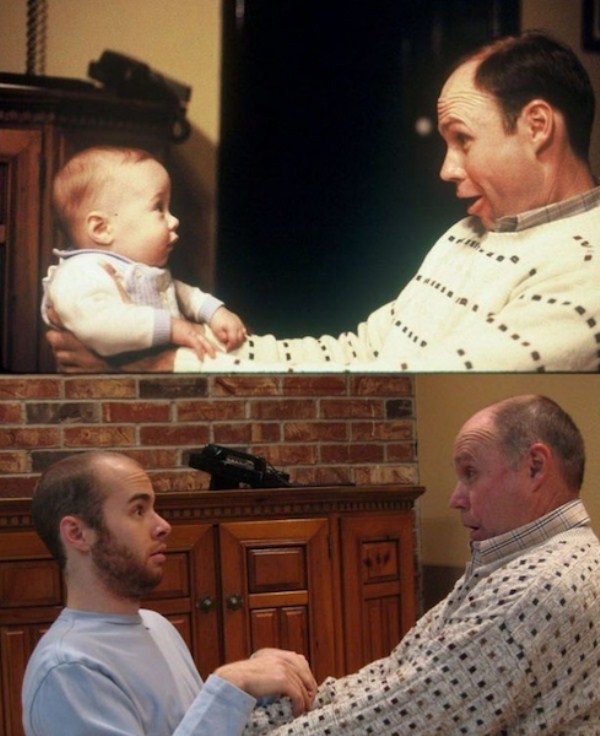 Recreating Childhood Photos (20)