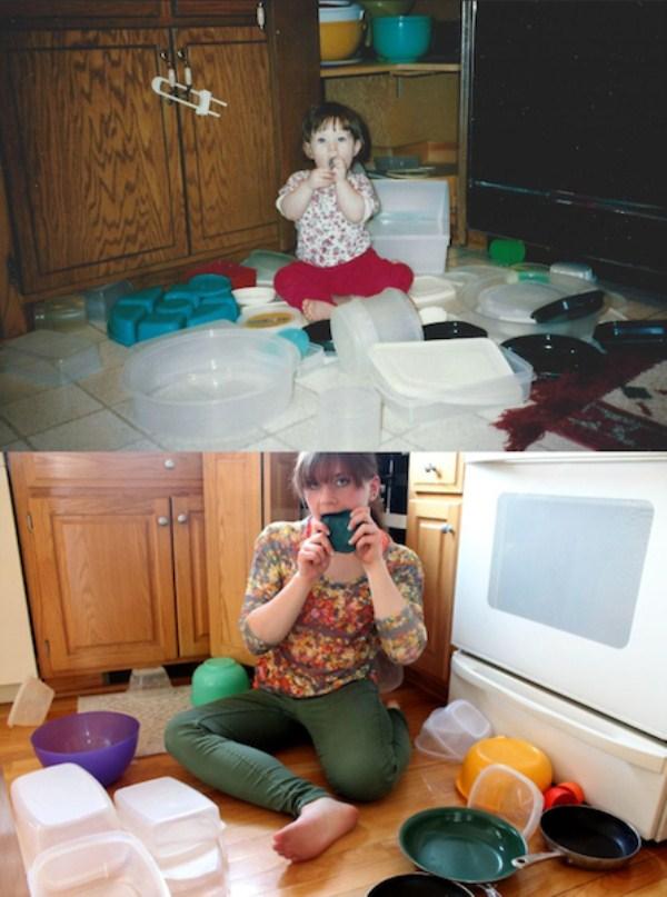 Recreating Childhood Photos (22)