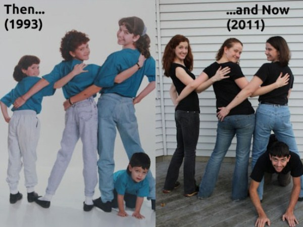 Recreating Childhood Photos (34)