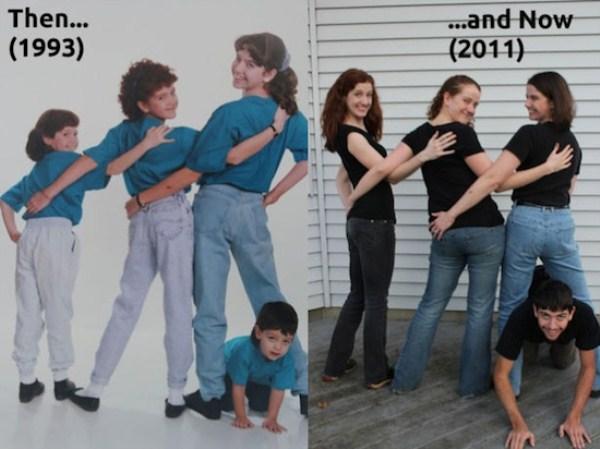 Recreating Childhood Photos (34)