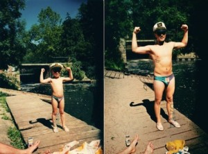 33 Childhood Photos Recreated Years Later (33 photos) 21