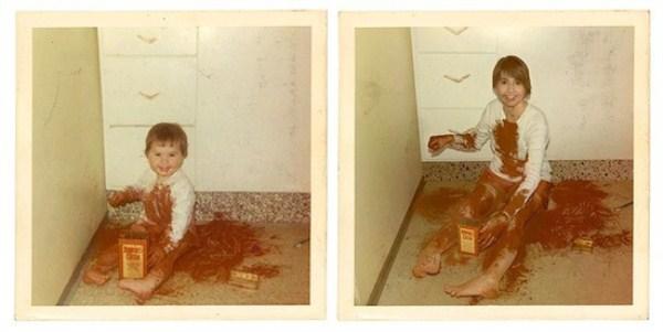 Recreating Childhood Photos (39)