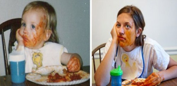Recreating Childhood Photos (40)