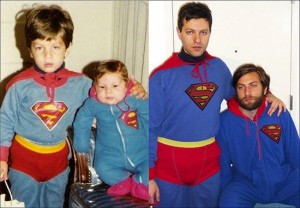 33 Childhood Photos Recreated Years Later (33 photos) 27