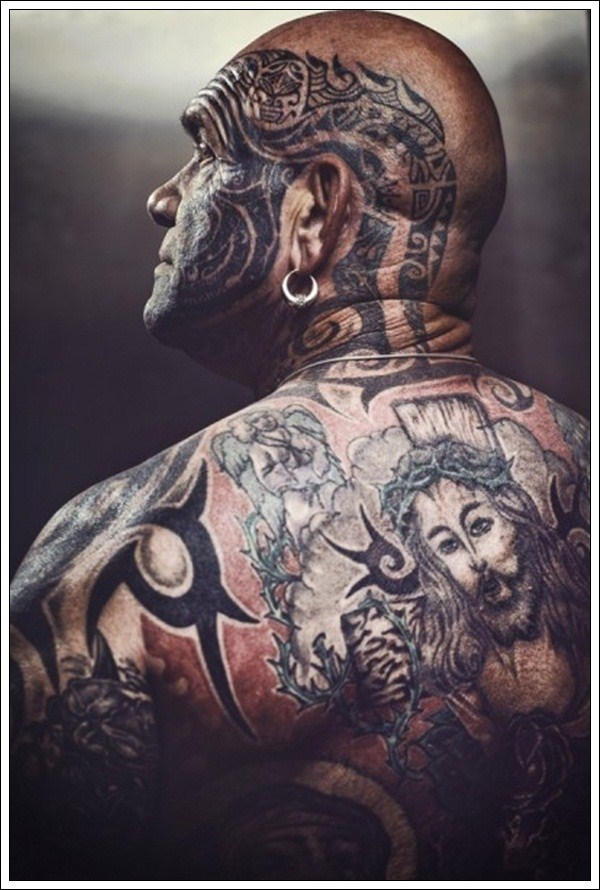 58 Amazing Full Body Tattoos (58 photos) 43