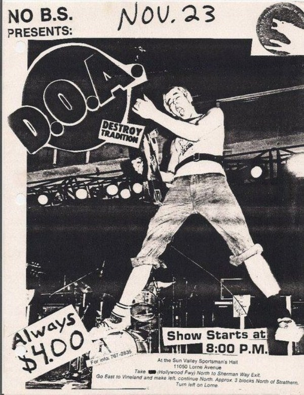 old punk flyers  (40)
