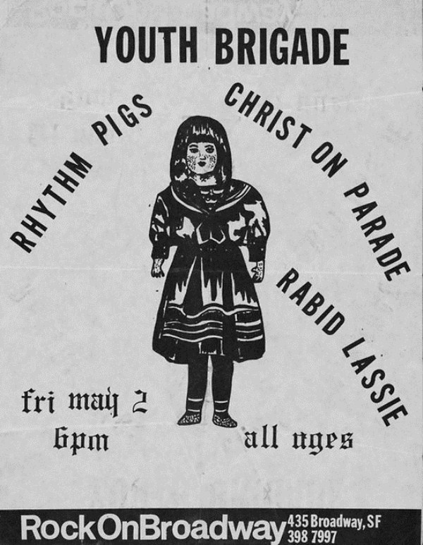 old punk flyers  (5)
