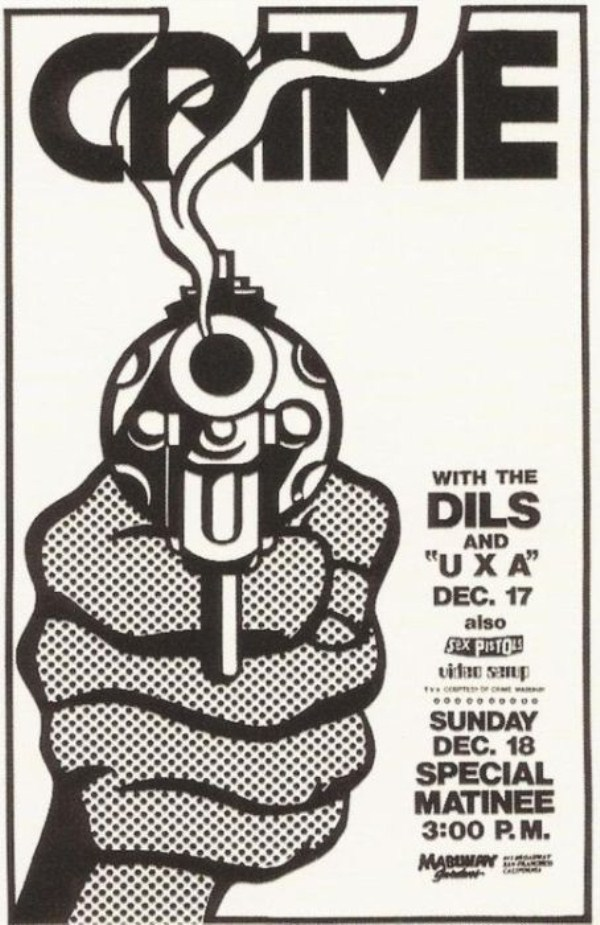 old punk flyers  (9)