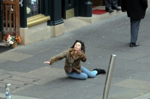 Scarlett Johansson Falling Down (30 photos) 1