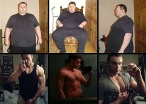 Transformation Of A Suicidal Obese Man To 'Mr Muscle' (11 photos) 11