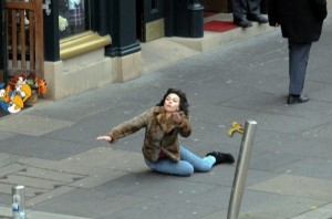 Scarlett Johansson Falling Down (30 photos) 16