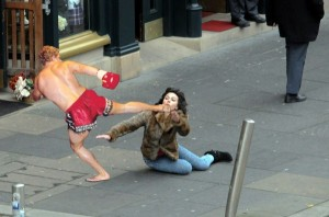 Scarlett Johansson Falling Down (30 photos) 19