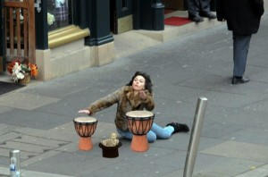 Scarlett Johansson Falling Down (30 photos) 3