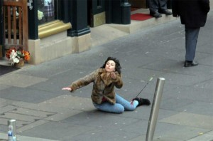 Scarlett Johansson Falling Down (30 photos) 5