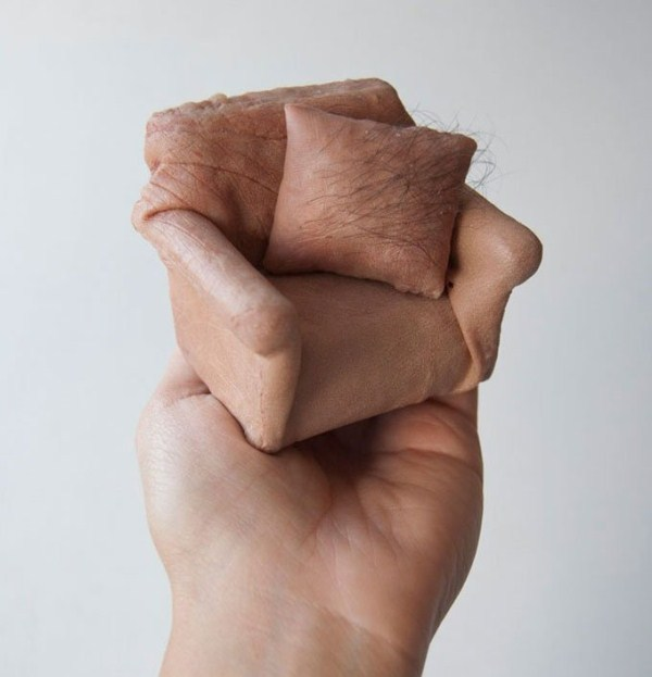 Miniature Furniture Made out of Fake Human Skin (14 photos) 11