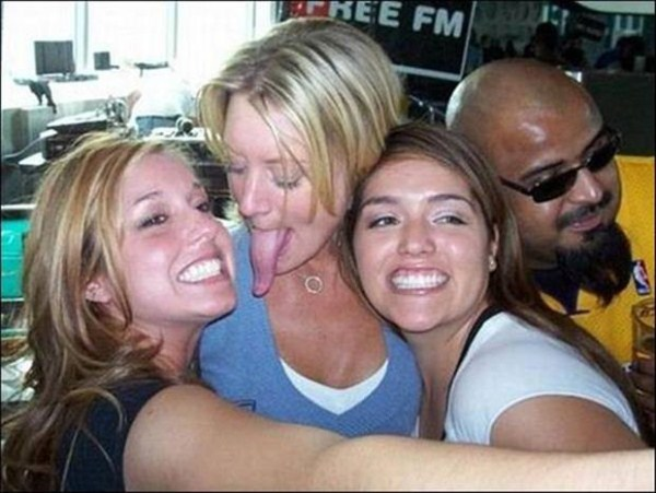 Women with long tongues 35 pictures