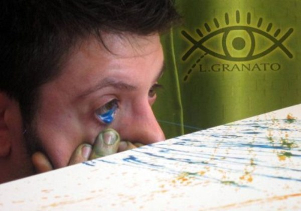 eye squirtingpaint artist 8 Painting with Eyes (26 photos)