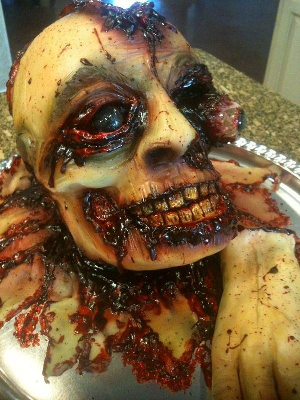 Halloween Horror Cakes (42 photos) 41