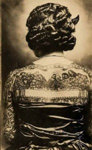 Tattoos From The Past (44 photos) 1