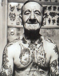 Tattoos From The Past (44 photos) 2