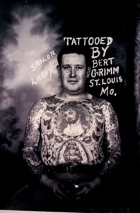 Tattoos From The Past (44 photos) 3