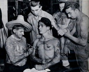Tattoos From The Past (44 photos) 5