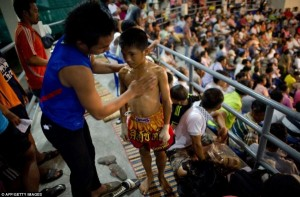 Thailand's Child Fighters (28 photos) 1