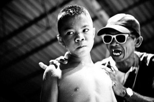 Thailand's Child Fighters (28 photos) 16