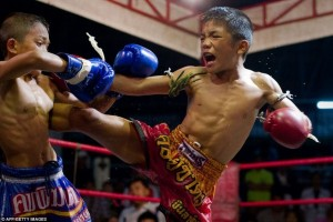 Thailand's Child Fighters (28 photos) 25