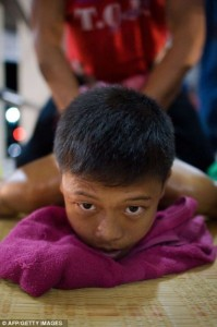 Thailand's Child Fighters (28 photos) 28