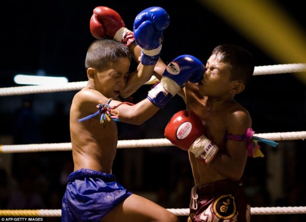 Thailand's Child Fighters (28 photos) 3