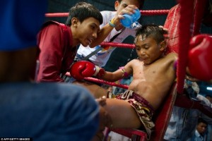Thailand's Child Fighters (28 photos) 5