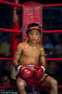 Thailand's Child Fighters (28 photos) 7